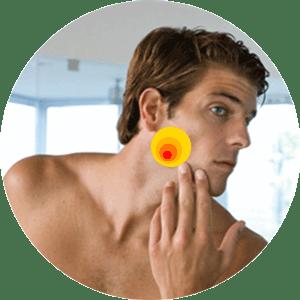 Илон снимает воспаление и успокаивает кожу после бритья